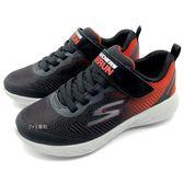 《7+1童鞋》中童 SKECHERS 97867LBKRD 輕量 透氣網布  運動鞋 慢跑鞋 C909 黑色