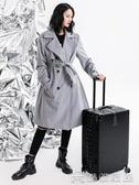 (快速)拉桿箱 旅行箱行李箱鋁框拉桿箱萬向輪20女男學生24密碼皮箱子