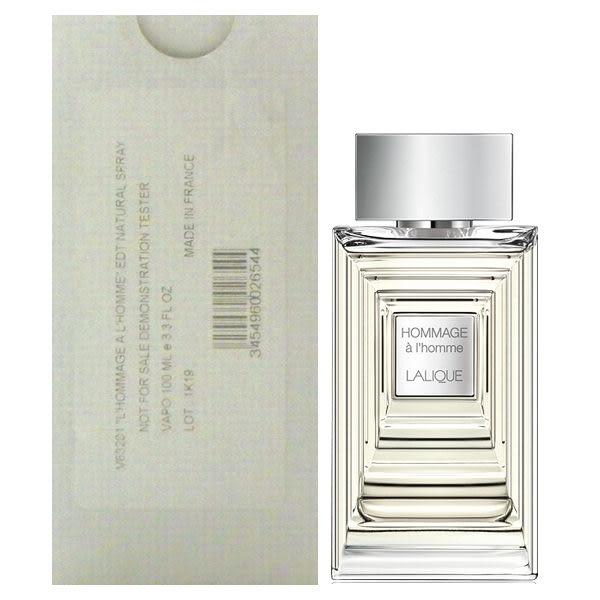 Lalique 萊儷時空旅人男性淡香水100ml Tester 包裝