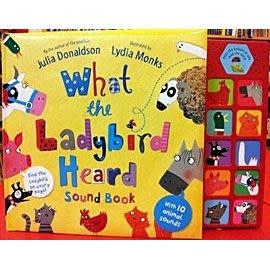 【麥克書店】WHAT THE LADYBIRD HEARD SOUND BOOK @ 故事聲音書