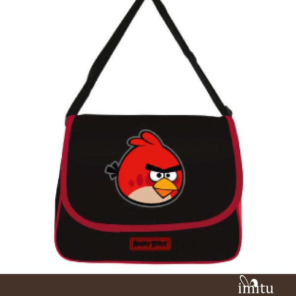 imitu【憤怒鳥 Angry Birds】休閒側背包(C款)