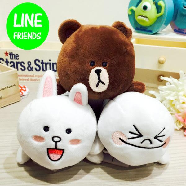 里和Riho LINE FRIENDS 立體娃娃筆袋 收納包  零錢包 化妝包 兔兔 饅頭人