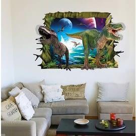 【收藏天地】創意生活*3D恐龍世界壁貼/ 家飾 居家 裝飾 佈置 環保