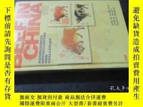 二手書博民逛書店BEEF罕見IN CHINA AGRIBUSINESS OPPO