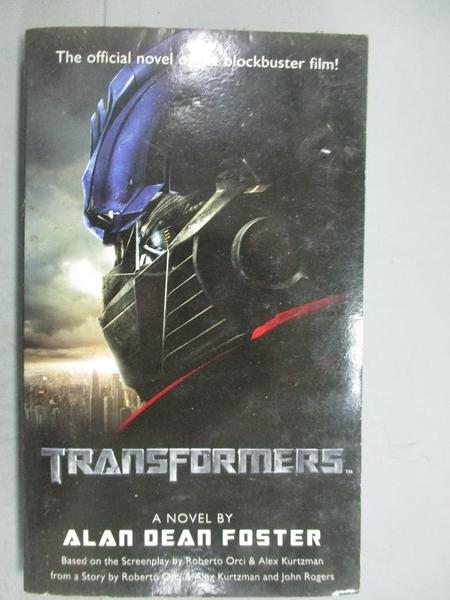 【書寶二手書T3/原文小說_GIX】Transformers_Foster, Alan Dean