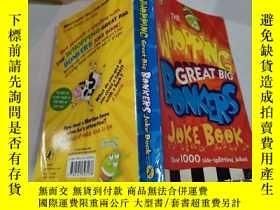 二手書博民逛書店The罕見WHOPPING Great Big BONKERS Joke Book:大塊頭大塊頭笑話書Y212