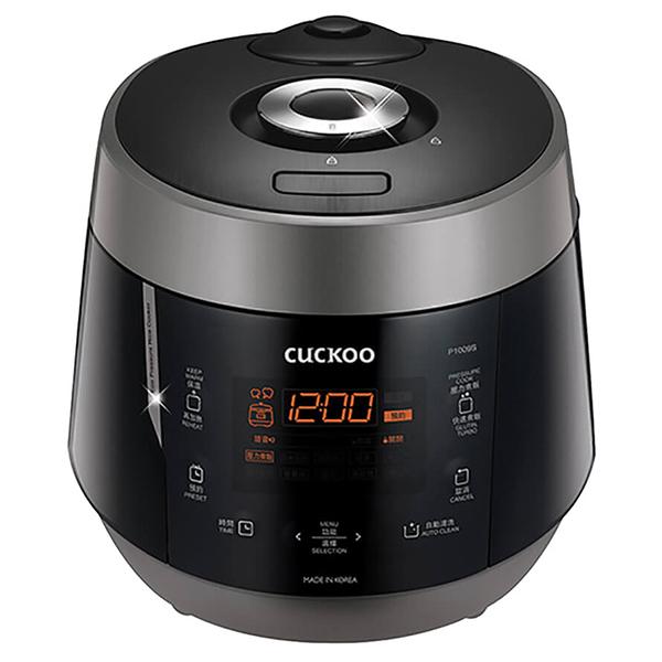 【韓國CUCKOO福庫】10人份真高氣壓智慧型電子鍋 CRP-P1009S黑S