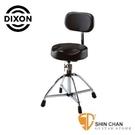 電子鼓椅 ► Dixon PSN9212K 原廠爵士鼓椅 (附靠背/椅面可旋轉/可調高度)