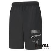 Puma Rebel 黑色 基本系列 口袋 短褲 男款 NO.H3540【新竹皇家 58690551】
