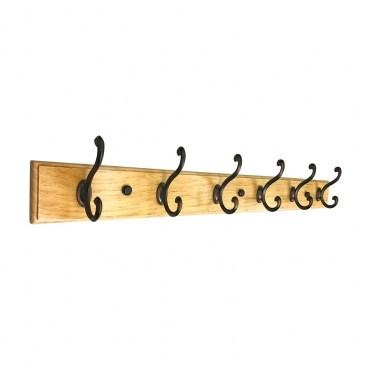 音符木板鉤 - 六鉤組 OB