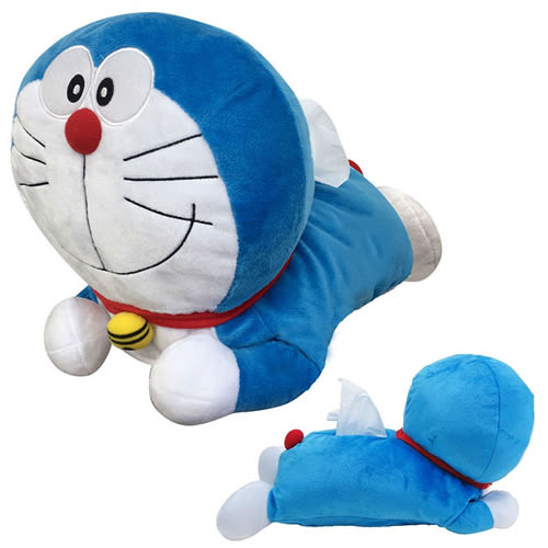 【日本進口正版】 哆啦a夢 DORAEMON 面紙套 玩偶 擺飾 娃娃 小叮噹 - 035919