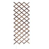 植物爬藤架懸掛實木網格花架陽臺壁掛式花支架客廳防腐木圍欄裝飾