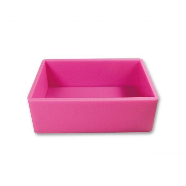 【香草工房】 2000CC粉紅矽膠土司模(不含木盒)