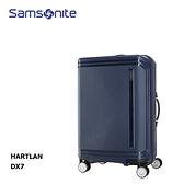 特價 Samsonite【HARTLAN】25吋四輪行李箱 DX7 霧面防刮 PP耐磨 精緻內裝 防水拉鍊 飛機輪