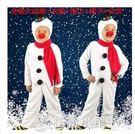 聖誕節兒童雪人錶演服紅鼻子幼兒園男女童cosplay舞台演出衣服裝 格蘭小舖