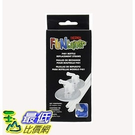 Thermos 更換用吸管 1入裝 Replacement Straws for 12 Ounce Funtainer Bottle, Clear (F401RS6) _E2C
