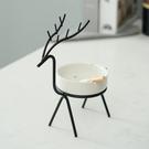 北歐裝飾擺件小鹿煙灰缸