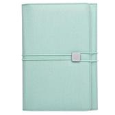 ALIO 商務A5筆記包 / 三層款 / 粉綠色【KACO】