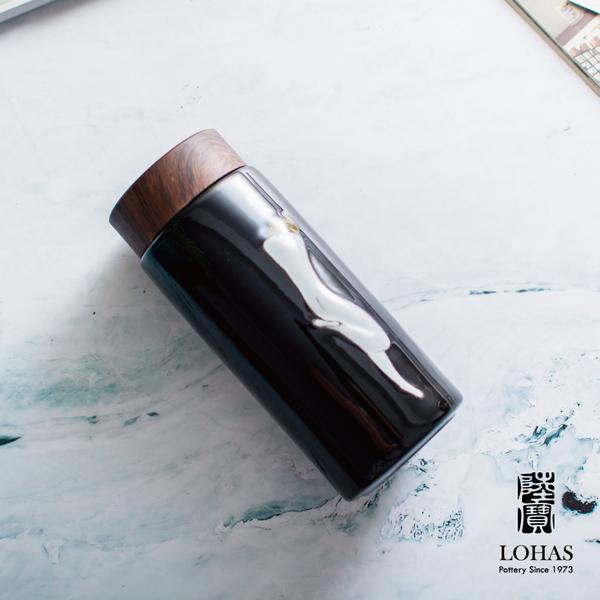 陸寶 常玉 雙美夢境隨身杯 雙層設計 陶瓷內膽