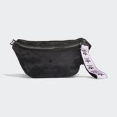 ADIDAS ORIGINALS 黑紫 三葉草 腰包 (布魯克林) FL9623