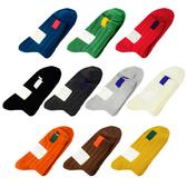 日系 純色針織襪 標誌 襪子 長襪 短襪 中筒襪 【E002】