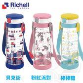 Richell 利其爾 全新第四代吸管式冷水壺 (450ml) 202807