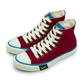 LIKA夢 PONY 經典復古帆布鞋 Shooter 2.0  紅米白 63U1SH64RD 女