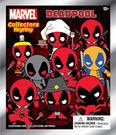 Deadpool死侍 Marvel漫威英雄 3D公仔鑰匙圈 隨機1入