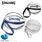 SPALDING 斯伯丁 袋類系列 單顆裝籃球瓢蟲袋 球袋 深藍/銀/黑 SPB5321N 原價250元起