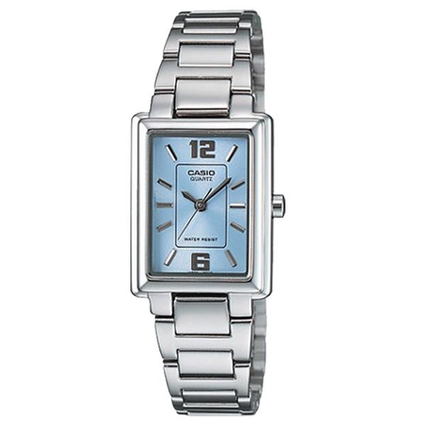 CASIO手錶專賣店 卡西歐 LTP-1238D-2A 女錶 指針表 不鏽鋼錶帶 強力防刮礦物玻璃 三折式錶帶