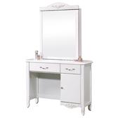 【YFS】Nana歐風白3尺鏡台桌椅組-90x41x166cm