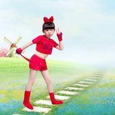 兒童節動物演出服兒童男女夏舞蹈服裝小貓狗小兔子老鼠表演服 SG5041【潘小丫女鞋】