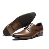 Waltz-真皮素面紳士鞋212575-23咖
