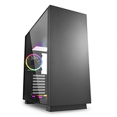 Sharkoon 旋剛 PURE STEEL RGB 鋼鐵者(黑) RGB 電腦機殼