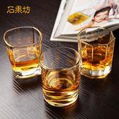 加厚耐熱玻璃酒杯威士忌杯子啤酒杯洋酒杯茶杯6只套裝家用酒吧KTV