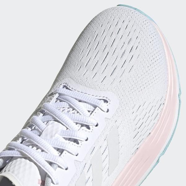 ADIDAS RESPONSE SR 5.0 童鞋 大童 慢跑 緩震 透氣 TPU支撐 EVA鞋墊 灰 粉【運動世界】FY8887