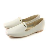 HUMAN PEACE 休閒鞋 白色 荔枝紋 女鞋 S232 no633
