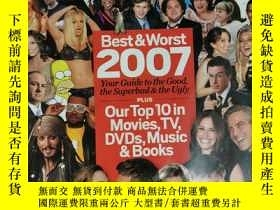 二手書博民逛書店Entertainment罕見Weekly 娛樂周刊 2008年1月4日 英文版Y42402