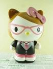 【震撼精品百貨】Hello Kitty 凱蒂貓~塑膠造型存錢筒~眼鏡