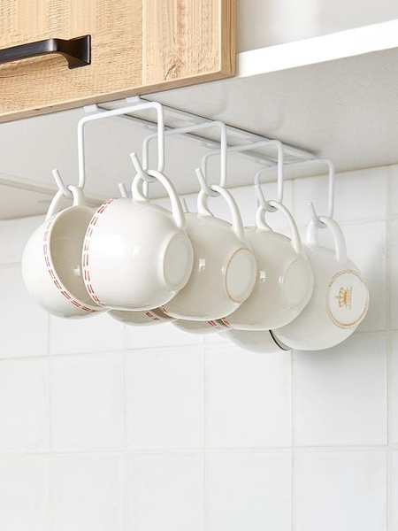 創意杯子收納架家用水杯倒掛掛茶杯懸掛杯架