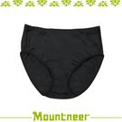 【Mountneer 山林 女 透氣三角中腰內褲《黑》】11K82-01/透氣內褲/排汗內褲/三角褲