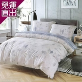 Indian 新科技天絲吸濕排汗雙人兩用被床包四件組-木葉蝶 5*6.2【免運直出】