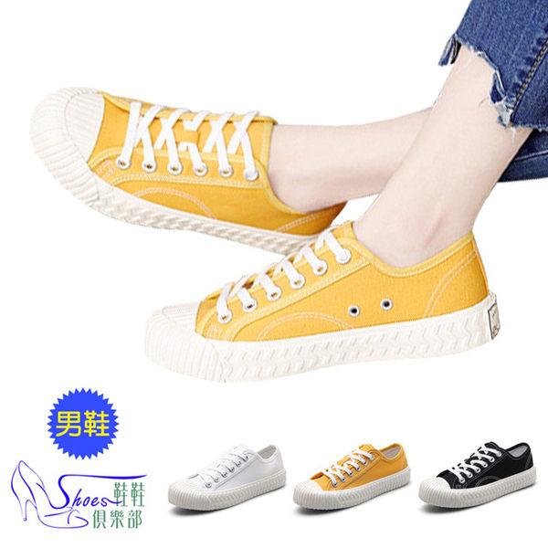 韓系厚底帆布餅乾鞋