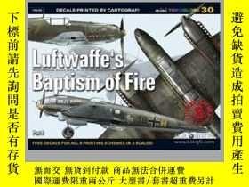 二手書博民逛書店Luftwaffe's罕見Baptism of Fire. Part I (damaged)-空軍的烈火洗禮。第一