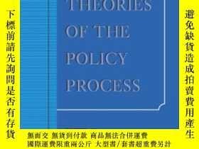 二手書博民逛書店Theories罕見Of The Policy Process, Second Edition-政策過程理論,第二