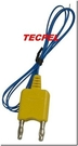 TECPEL 泰菱》香蕉頭溫度線 TPK-01A K型溫度線 電錶用溫度線 K type