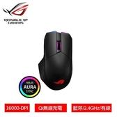ASUS 華碩 ROG Chakram 三模連線/Qi無線充電 電競滑鼠【贈StrixSlice遊戲滑鼠墊】
