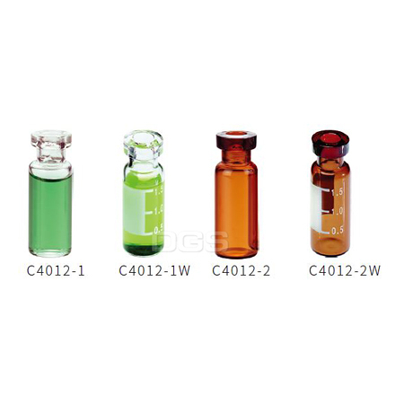 11mm鋁蓋取樣瓶 標準瓶口 12x32mm 11mm Crimp Top Vials Standard Opening 12 x 32mm