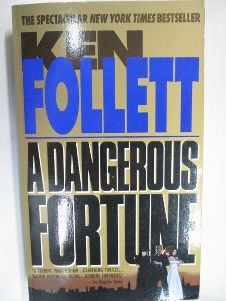 【書寶二手書T2/原文小說_BBU】A Dangerous Fortune_Ken Follett