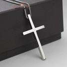 鈦鋼祈禱男十字架項鏈